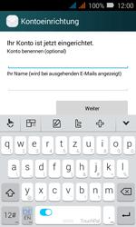 Huawei Y3 - E-Mail - Konto einrichten (yahoo) - Schritt 9