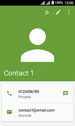Alcatel U3 - Contact, Appels, SMS/MMS - Ajouter un contact - Étape 12