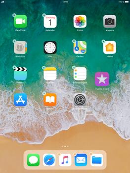 Apple iPad Air 2 - iOS 11 - Mehrere App-Symbole gleichzeitig verschieben - 2 / 2