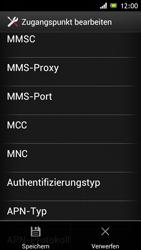 Sony Xperia J - Internet und Datenroaming - Manuelle Konfiguration - Schritt 15