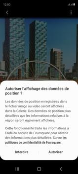 Samsung Galaxy S20 FE - Photos, vidéos, musique - Créer une vidéo - Étape 15