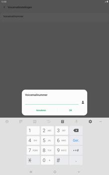 Samsung galaxy-tab-a-10-5-sm-t595-android-pie - Voicemail - Handmatig instellen - Stap 10