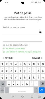 Huawei P Smart 2021 - Applications - Créer un compte - Étape 16