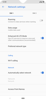 Nokia 6.2 - Network - Manual network selection - Step 8