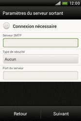 HTC A320e Desire C - E-mail - Configuration manuelle - Étape 13
