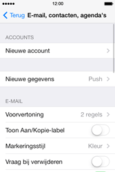 Apple iPhone 4 iOS 7 - E-mail - Account instellen (POP3 zonder SMTP-verificatie) - Stap 4