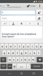 Sony D2303 Xperia M2 - E-mail - envoyer un e-mail - Étape 4