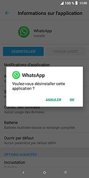 Alcatel 3L - Applications - Supprimer une application - Étape 8