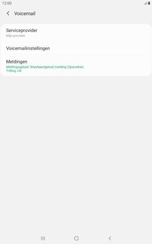 Samsung galaxy-tab-a-8-0-lte-2019-sm-t295 - Voicemail - Handmatig instellen - Stap 8