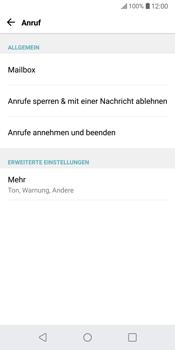 LG G6 - Android Oreo - Anrufe - Rufumleitungen setzen und löschen - Schritt 4