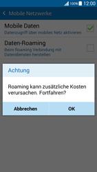 Samsung Galaxy Grand Prime - Ausland - Im Ausland surfen – Datenroaming - 9 / 12
