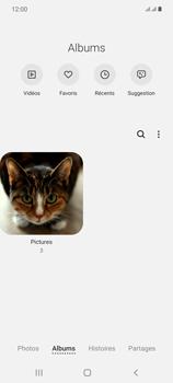 Samsung Galaxy Note20 - Photos, vidéos, musique - Envoyer une photo via Bluetooth - Étape 6