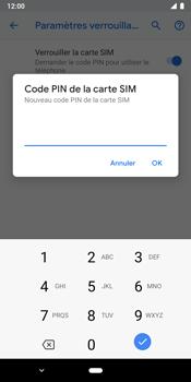 Google Pixel 3 - Sécuriser votre mobile - Personnaliser le code PIN de votre carte SIM - Étape 9