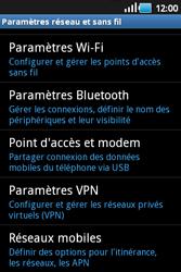 Samsung S5660 Galaxy Gio - Internet - activer ou désactiver - Étape 5