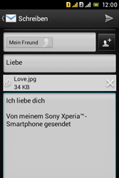 Sony Xperia Tipo Dual - E-Mail - E-Mail versenden - 16 / 18