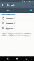 Sony Xperia XZ Premium - Bluetooth - Koppelen met ander apparaat - Stap 6