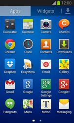Samsung Galaxy Trend Lite - E-mail - manual configuration - Step 3