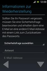 Sony Xperia E - Apps - Konto anlegen und einrichten - 10 / 17