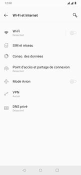 OnePlus 7 - Internet et connexion - Accéder au réseau Wi-Fi - Étape 5