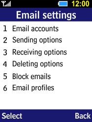 Samsung B550H Xcover 550 - E-mail - Manual configuration - Step 17