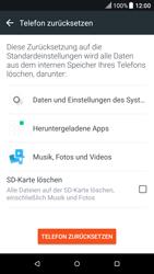 HTC One M9 - Fehlerbehebung - Handy zurücksetzen - 2 / 2