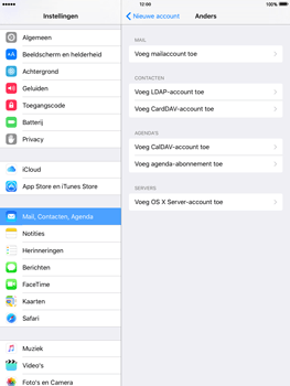 Apple iPad Mini 3 iOS 9 - E-mail - Handmatig instellen - Stap 6
