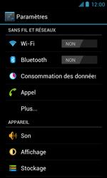 ZTE Blade III - Internet et roaming de données - Désactivation du roaming de données - Étape 4