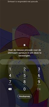 Samsung galaxy-xcover-pro-sm-g715fn - Beveiliging en ouderlijk toezicht - PUK code invoeren - Stap 4