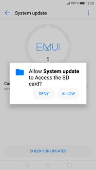 Huawei Mate 9 - Software - Installing software updates - Step 4