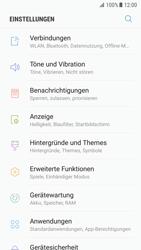 Samsung Galaxy S7 - Android Nougat - WLAN - Manuelle Konfiguration - Schritt 4