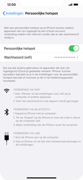 Apple iPhone XR - iOS 13 - Internet - mijn data verbinding delen - Stap 8
