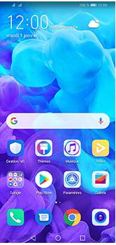 Huawei Y5 (2019) - E-mails - Ajouter ou modifier un compte e-mail - Étape 1