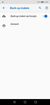 Huawei P20 - Android Pie - toestel resetten - back-up maken met jouw account - stap 11