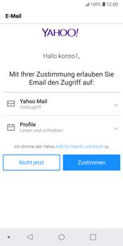 LG G6 - Android Oreo - E-Mail - Konto einrichten (yahoo) - Schritt 11