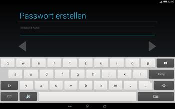 Sony Xperia Tablet Z2 LTE - Apps - Einrichten des App Stores - Schritt 13