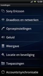 Sony Xperia Ray - Voicemail - Handmatig instellen - Stap 4