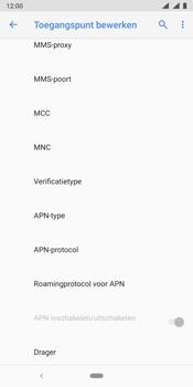Nokia 9 - internet - handmatig instellen - stap 17