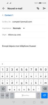 Huawei Nova 5T - E-mails - Envoyer un e-mail - Étape 9