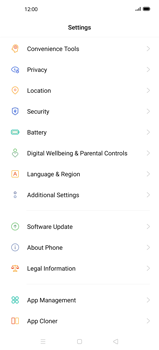 Oppo Find X2 Pro - Mobile phone - Resetting to factory settings - Step 4