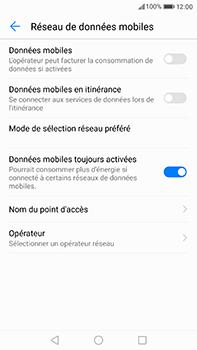 Huawei P10 Plus - Internet et roaming de données - Comment vérifier que la connexion des données est activée - Étape 5