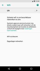 LG Nexus 5X - Android Oreo - Wi-Fi - Verbinding maken met Wi-Fi - Stap 6