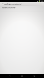Sony C6833 Xperia Z Ultra LTE - Voicemail - Handmatig instellen - Stap 10