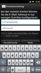 Sony Xperia J - E-Mail - Konto einrichten - Schritt 5