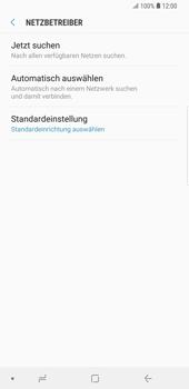 Samsung Galaxy S9 Plus - Netzwerk - Manuelle Netzwerkwahl - Schritt 7