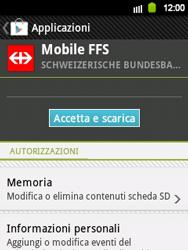 Samsung Galaxy Y - Applicazioni - Installazione delle applicazioni - Fase 22