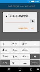 Sony E2303 Xperia M4 Aqua - voicemail - handmatig instellen - stap 8