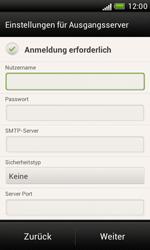 HTC Desire X - E-Mail - Manuelle Konfiguration - Schritt 13