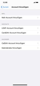 Apple iPhone X - iOS 14 - E-Mail - Manuelle Konfiguration - Schritt 6