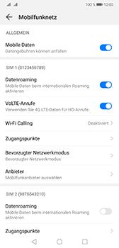 Huawei Mate 20 - Ausland - Im Ausland surfen – Datenroaming - 9 / 11