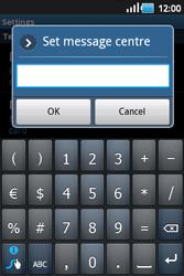 Samsung S5660 Galaxy Gio - SMS - Manual configuration - Step 5